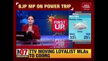 BJP MP Threatens And Dares Police Officer To Take Action Against BJP