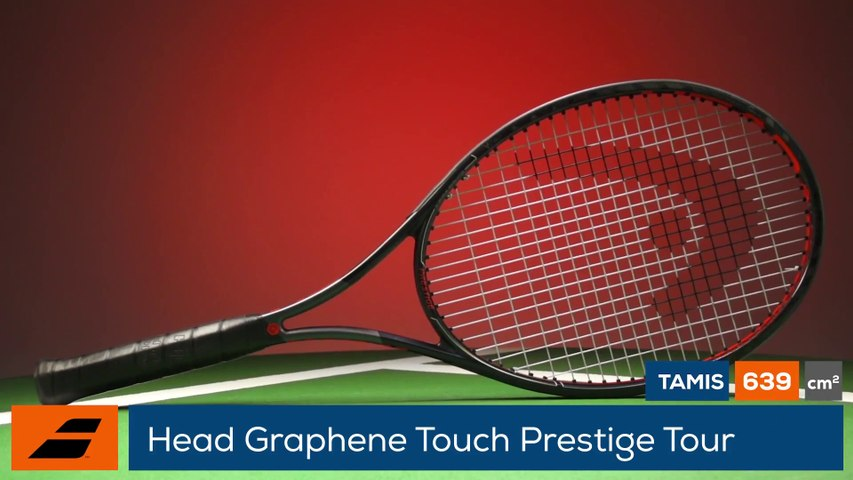 Tennis Test Matériel - On a testé pour vous la précision absolue avec la Head PRESTIGE