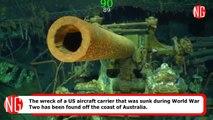 USS Lexington, The Fallen WW2 Aircraft Carrier, Is Finally Found