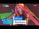 [HOT] Rainbow - Whoo, 레인보우 - Whoo Show Music core 20160220