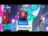 [HOT] Rainbow - Whoo, 레인보우 - Whoo Show Music core 20160312