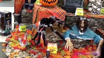 Spirit Halloween 2016 Animatronics Video Store Tour Lorraine Toys Videos