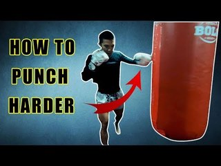 How to punch harder and fast | Muay Thai fighter