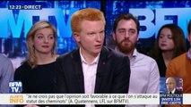 """""""Oui, nous avons un problème avec le parti médiatique dans ce pays"""", estime Adrien Quatennens"""