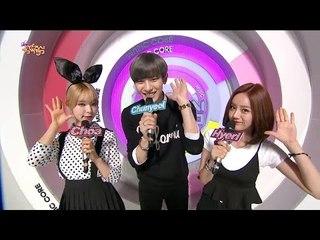 tvpp chanyeol exo special mc mc show music core live