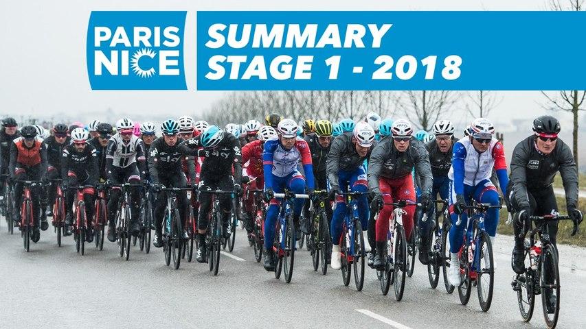 Summary - Stage 1 (Chatou / Meudon) - Paris-Nice 2018