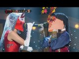 【TVPP】ChoA(AOA) - 'Happy Me' with Byul , 초아(에이오에이) - '행복한 나를' with 별 @King of Masked Singer