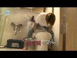 【TVPP】MinHyuk(CNBLUE)- Unclog a Toilet, 민혁(씨엔블루) - 변기 뚫기 @ I Live Alone
