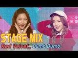 【TVPP】 Red Velvet - DumbDumb Stage Mix, 60FPS!
