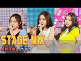 【TVPP】APINK - 'Five' Stage Mix, 60FPS! @Show Music Core