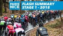 Flash Summary - Stage 1 (Chatou / Meudon)  - Paris-Nice 2018