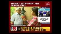 CPI(M) Gen. Secy. Sitaram Yechury Slams Govt. On Presidential Polls