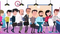 2D Cartoon Animated Video of Business Time Management System | 2D Animation Video