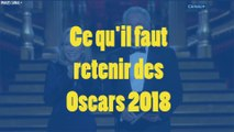 Ce qu'il faut retenir des Oscars 2018