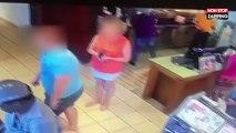 Un pervers surpris en train de filmer sous la jupe d'une femme (Vidéo)