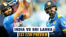 India vs Sri Lanka 1st T20I Preview: Rohit Sharma led side eyes for easy win over Sri Lanka|Oneindia