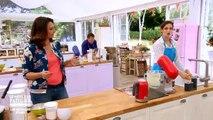 Le meilleur pâtissier : Quand Camille Lou prépare une tropézienne... carrée !