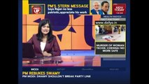 Subramanian Swamy - Arun Jaitely War Reaches PM's Door