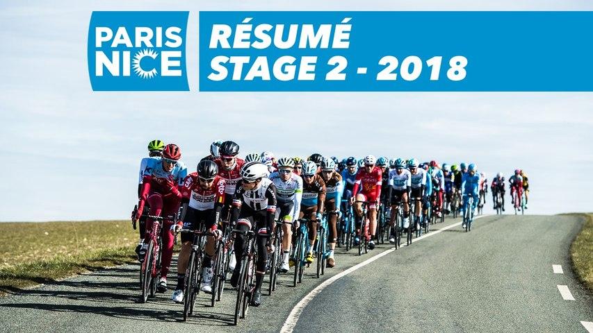 Résumé - Étape 2 - Paris-Nice 2018