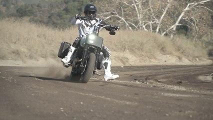 Baggers Custom Harley-Davidson Road King Scrambler