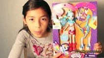 My Little Pony Rainbow Rocks Rainbow Dash Doll Review  MLP Dolls  B2cutecupcakes