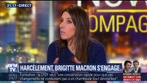 Brigitte Macron s'engage contre le harcèlement scolaire