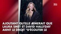 """Héritage de Johnny Hallyday, Nathalie Baye défend Laura et David, """"les bêtes noires de Laeticia"""""""