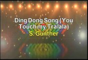 Gunther Ding Dong Song (You Touch My Tralala) Karaoke Version