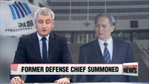 South Korea's ex-defense chief summoned for questioning over alleged political meddling