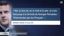 [Zap Actu] Pari entre G. Collomb et E. Philippe à l'Assemblée, E. Macron défend le vin (06/03/2018)
