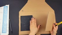 DIY Handmade Vintage Photo Frame | Recycled Cardboard | Step By Step