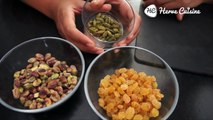 Recette indienne facile : Halwa carottes, pistaches et cajou (English SUB)
