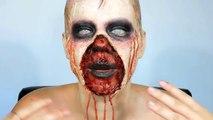 Maquillaje de Wendigo / Gore #17 / Until Dawn Wendigo Halloween Makeup - Maquillaje para Halloween