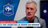 Équipe de France, Didier Deschamps à 100 jours de la Coupe du Monde, interview I FFF 2018