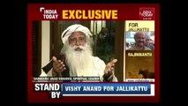 Sadhguru Jaggi Vasudev Blames Vested Interests Working Against Jallikattu
