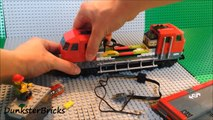 Fitting Lights to the LEGO Heavy-Haul Train! Set 60098