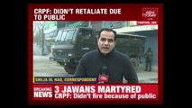 Terrorists Target Army Convoy In Pampore ; 3 Army Jawans Marytred