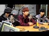 RADIO LIVE   BTS - Jungguk Singing Short Line of 'Jump' @MBC FM4U 20140227