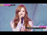 1PS - Because Im a Girl, 원피스 - 여자이니까, Music Core 20140301
