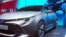 Toyota Auris : jolie maquette - Salon de Genève 2018