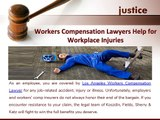 How Workers Compensation Lawyers Help for Workplace Injuries