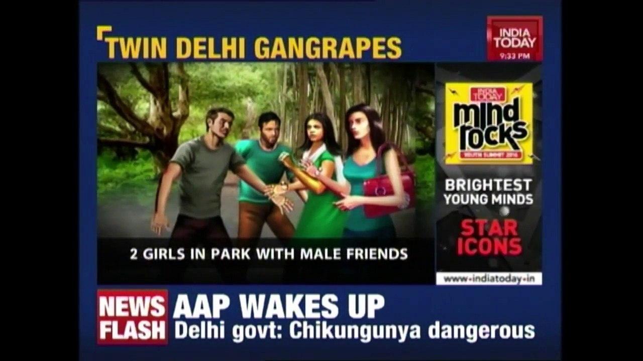 2 Girls Including A Minor Gang Raped In Delhi Park