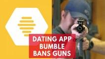 Dating app Bumble bans guns in profile photos