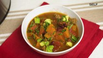 Healthy Slow-Cooker Sweet Potato Chili