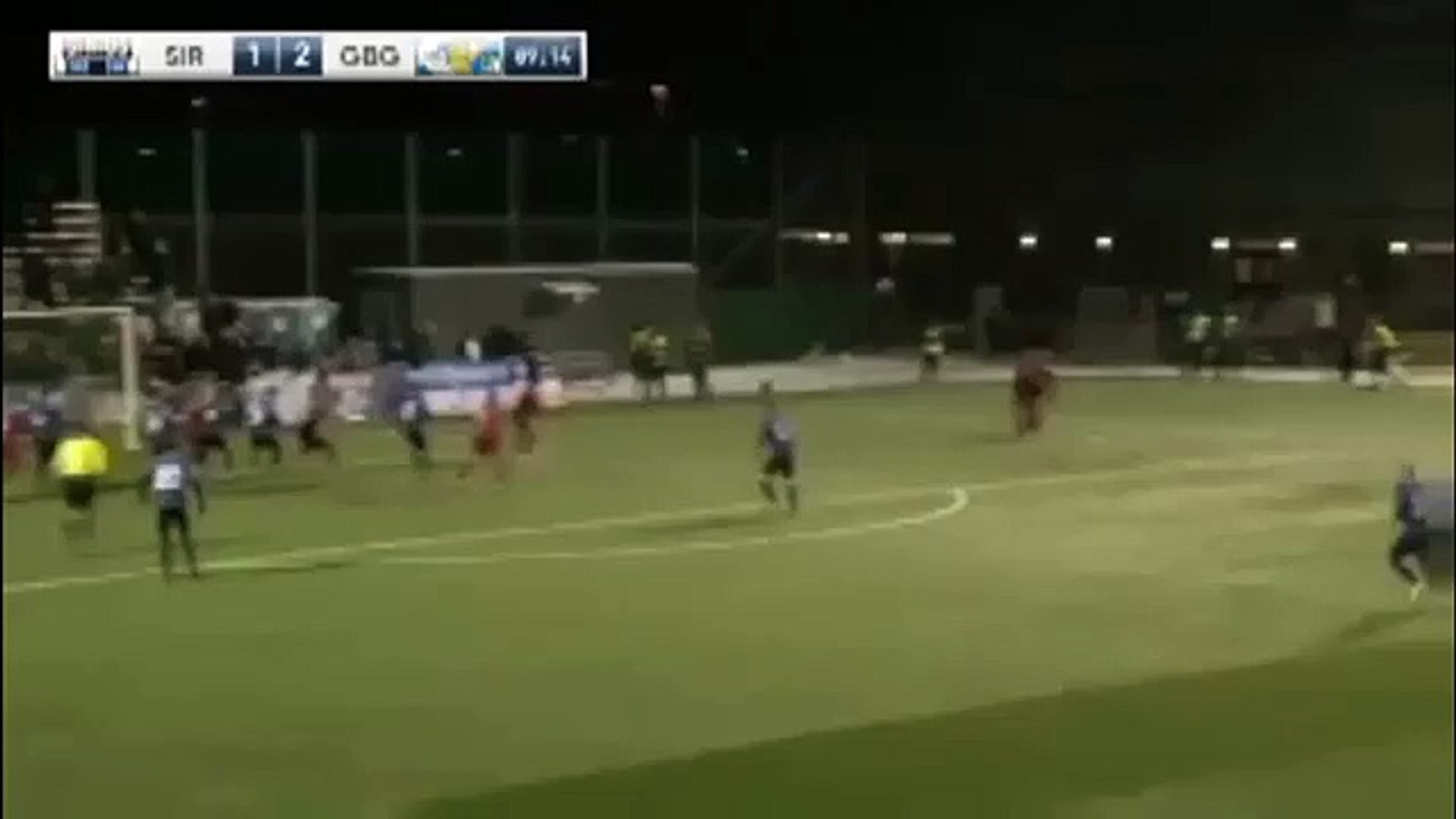 Sirius 2:2 Goeteborg (Sweden. Cup. 4 March 2018)