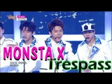 [HOT] MONSTA X - Trespass, 몬스타 엑스 - 무단침입, Show Music core 20150620