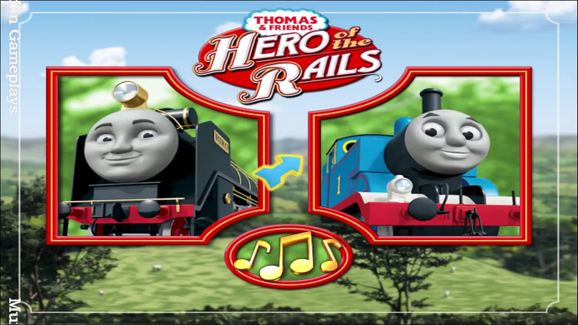 Thomas Friends Hero Of The Rails Wii Gameplay Video Dailymotion