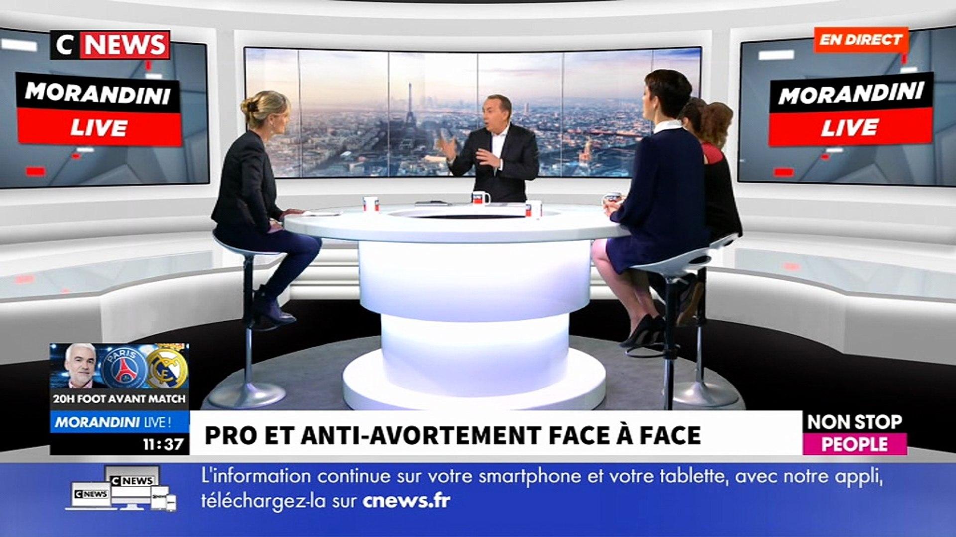 Pro et anti-avortement, regardez le face à face très tendu ce matin en direct dans