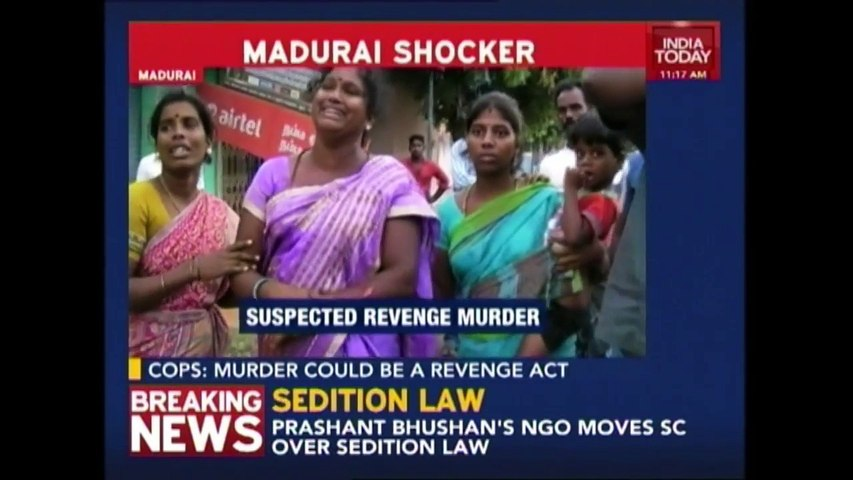 Shocking Murder: Head Chopped Off And Thrown On Road In Madurai