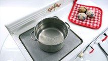 Mini Food Cooking Egg Salad & Tomato Soup 1940s Little Chef Kids Oven